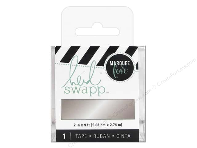 Heidi Swapp LightBox Tape 2 in. Silver Foil
