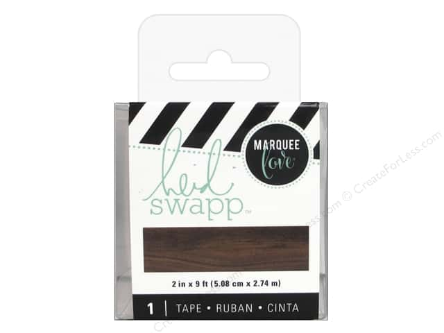 Heidi Swapp LightBox Tape 2 in. Woodgrain