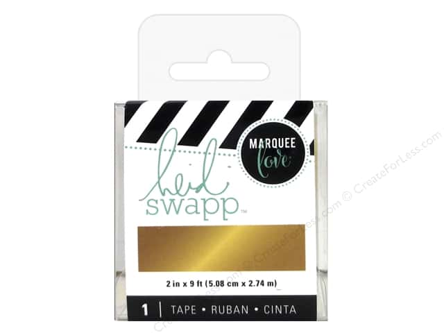 Heidi Swapp LightBox Tape 2 in. Gold Foil