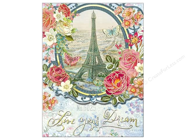 Punch Studio Pocket Note Pad Words of Wisdom Paris Dream