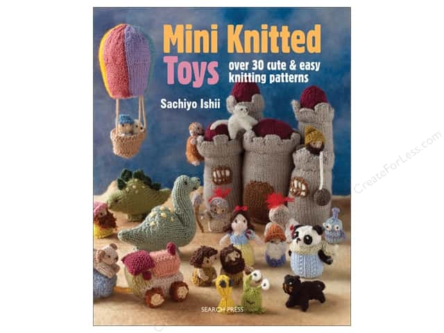 Search Press Mini Knitted Toys Book