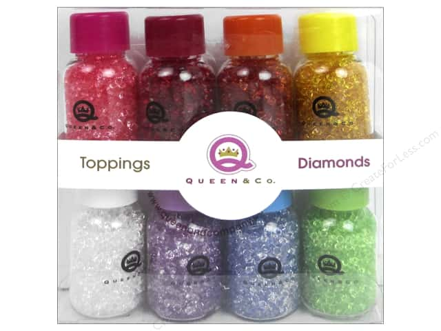 Queen&Co Collection Toppings Set Diamonds