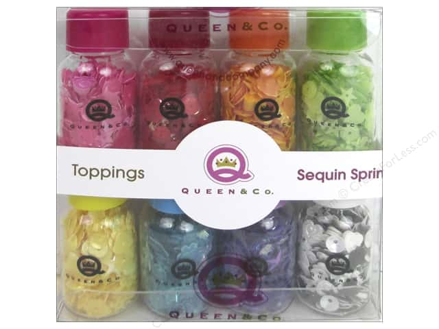 Queen&Co Collection Toppings Set Sequin Sprinkles