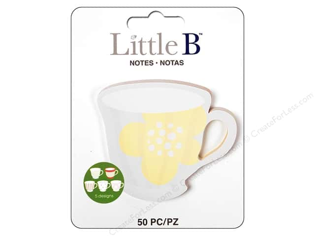Little B Paper Adhesive Notes Tea Cup
