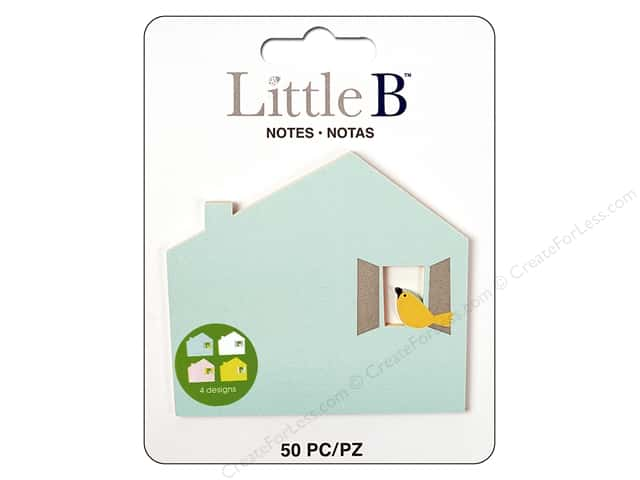Little B Paper Adhesive Notes Birdhouse
