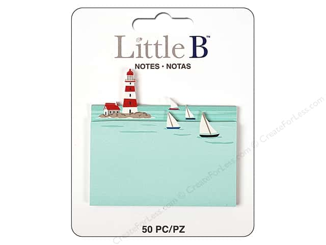 Little B Paper Adhesive Notes Lighthouse