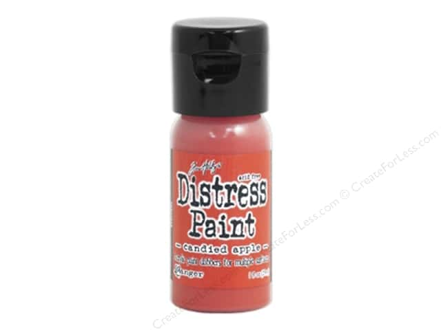 Tim Holtz Distress Paint by Ranger 1 oz. Candied Apple