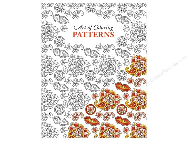 Leisure Arts Art of Coloring Patterns Coloring Book