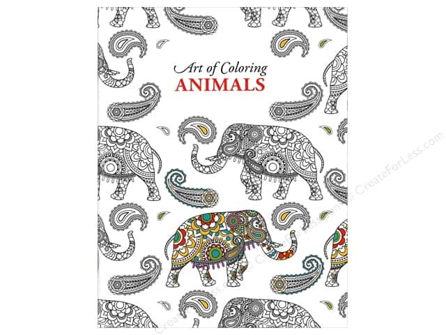 Art of Coloring Animals Coloring Book