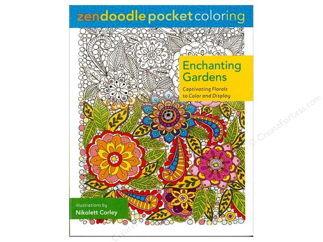 St Martin's Griffin Enchanting Gardens Coloring Book