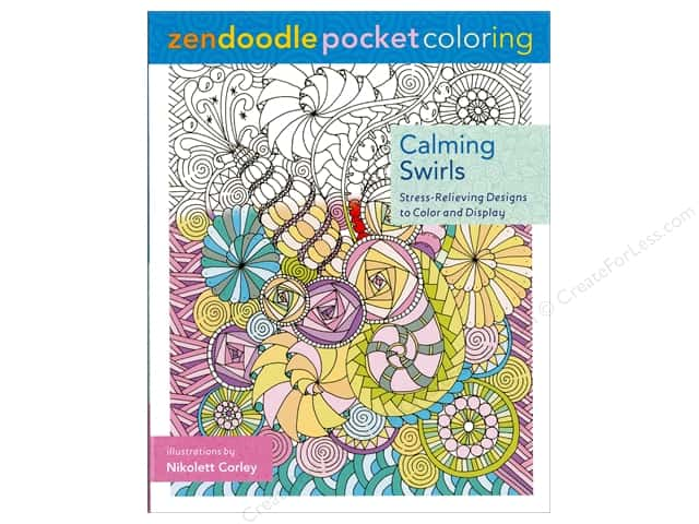 St Martin's Griffin  Calming Swirls Coloring Book