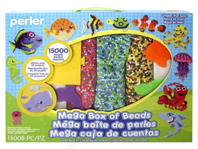 Perler Fused Bead Kit Mega Under The Sea 15000pc
