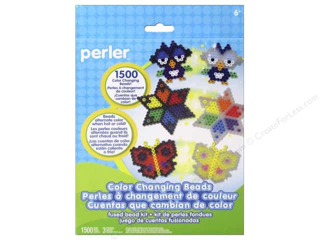 Perler Fused Bead Kit Color Changing 1500pc