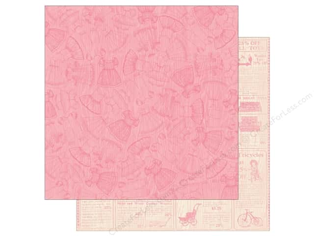 Authentique 12 x 12 in. Paper Darling Girl Three (25 sheets)
