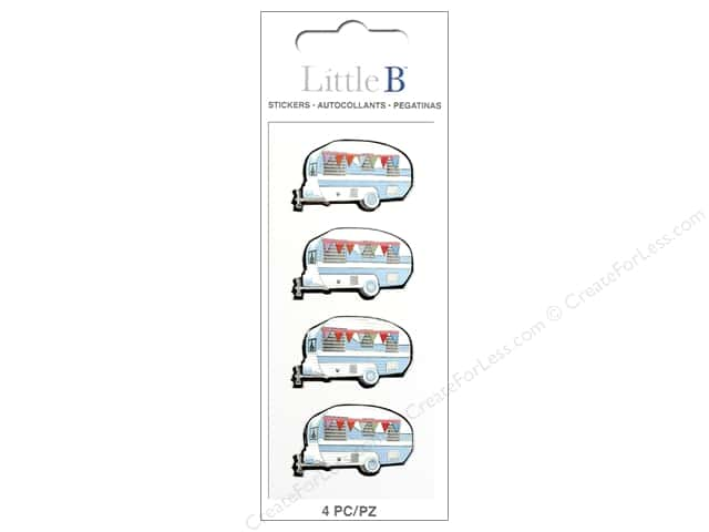 Little B Sticker Mini Campers