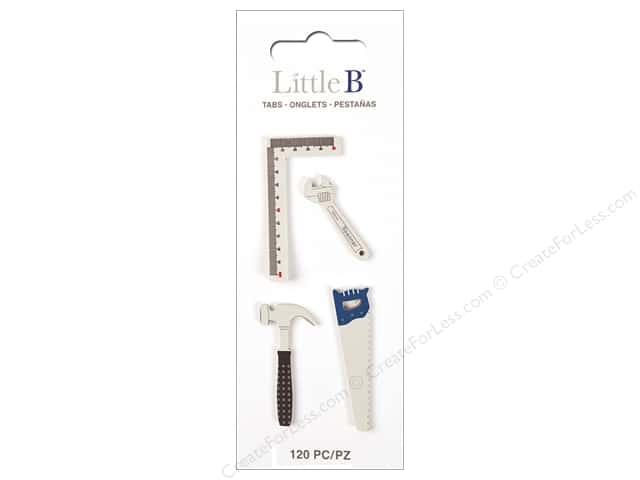 Little B Paper Adhesive Tabs Tools