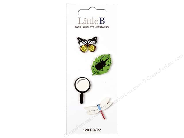 Little B Paper Adhesive Tabs Nature
