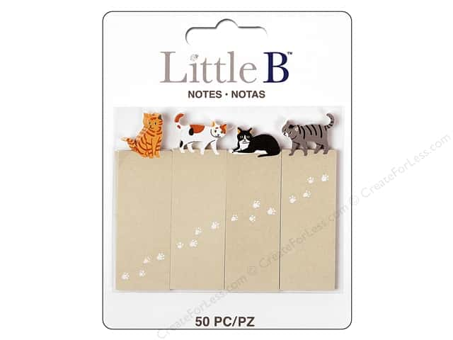 Little B Paper Adhesive Tabs Cats