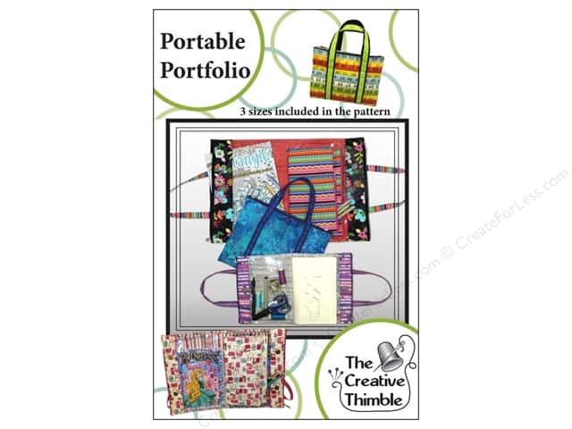 Creative Thimble Portable Portfolio Pattern