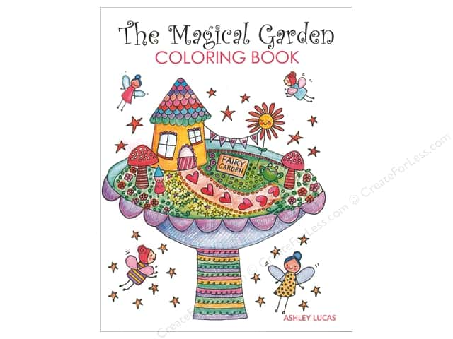 Taunton Press The Magical Garden Coloring Book