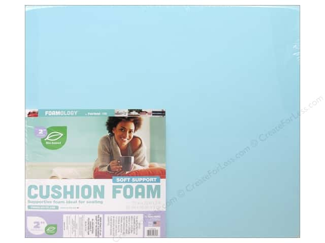 Fairfield Cushion Foam Soft Support Cushion 22 in. x 22 in. x 2 in.