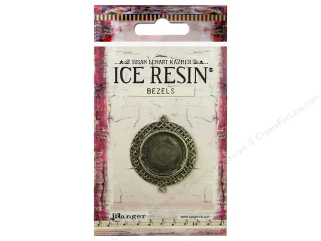 Ranger ICE Resin Milan Bezel Medium Circle Antique Bronze