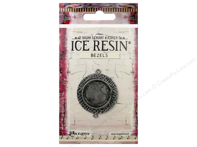 Ranger ICE Resin Milan Bezel Medium Circle Antique Silver