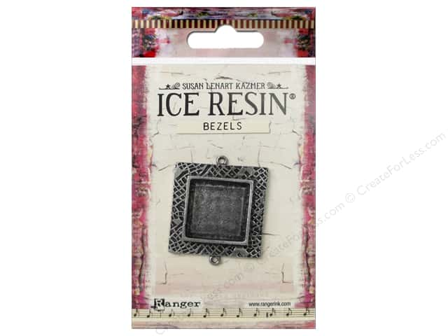 Ranger ICE Resin Milan Bezel Medium Square Antique Silver