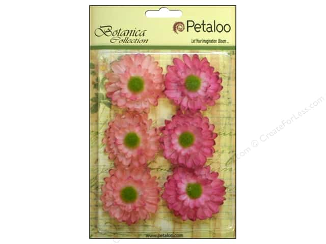 Petaloo Botanica Collection Gerber Daisy Light Pink