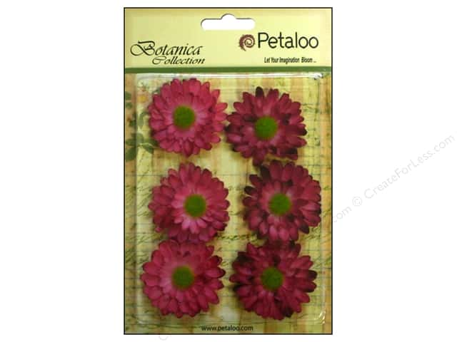 Petaloo Botanica Collection Gerber Daisy Fuchsia/Pink