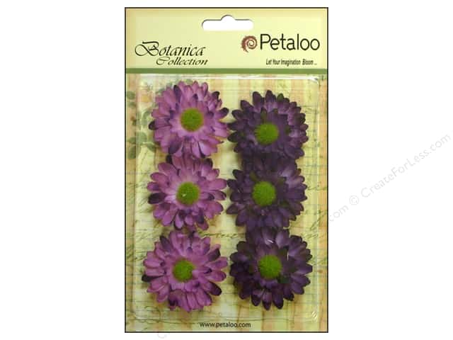 Petaloo Botanica Collection Gerber Daisy Purple
