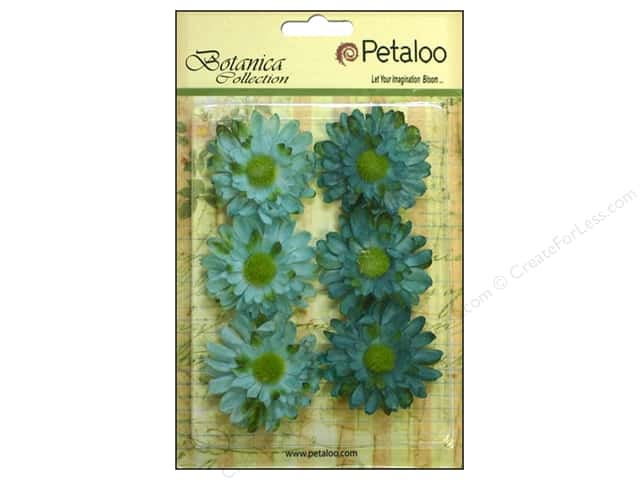 Petaloo Botanica Collection Gerber Daisy Teal