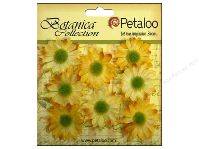 Petaloo Botanica Collection Gerber Daisy Mini Yellow