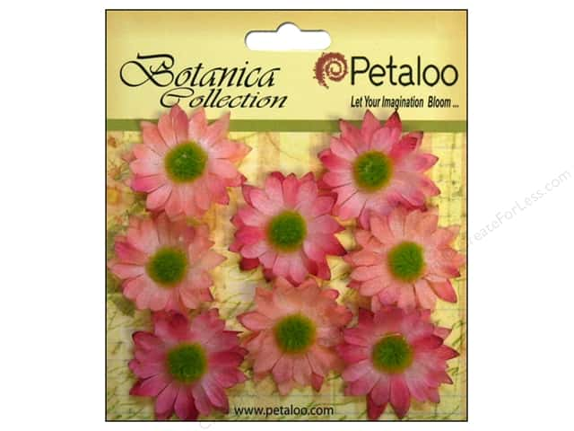 Petaloo Botanica Collection Gerber Daisy Mini Light Pink