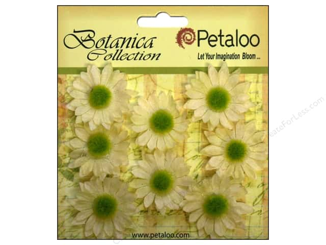Petaloo Botanica Collection Gerber Daisy Mini Ivory