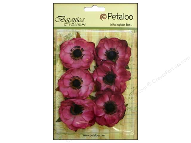 Petaloo Botanica Collection Anemone Fuchsia/Pink