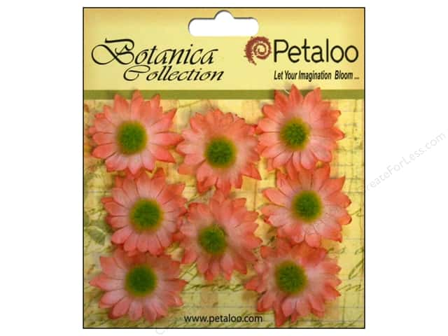 Petaloo Botanica Collection Gerber Daisy Mini Coral