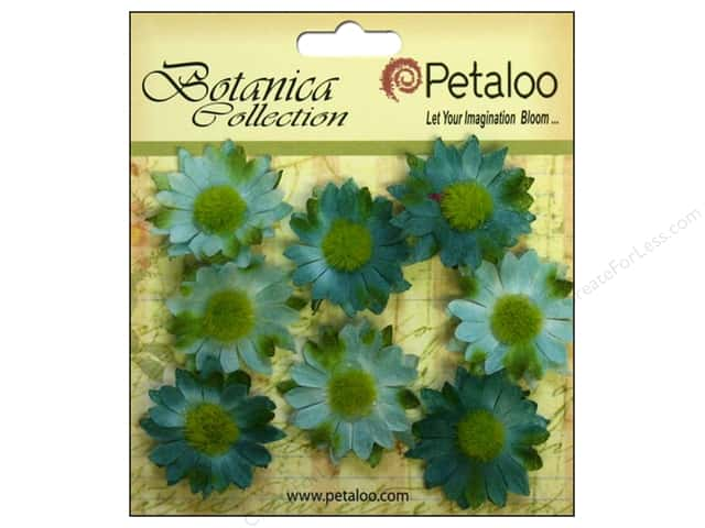 Petaloo Botanica Collection Gerber Daisy Mini Teal