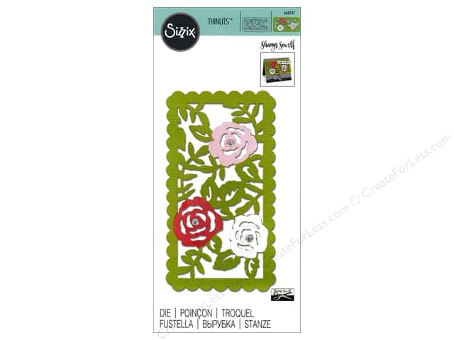 Sizzix Thinlits Die 1 pc. Rose Vines