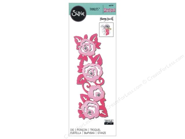 Sizzix Thinlits Die 1 pc. Roses