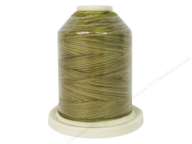 Signature 100% Cotton Thread 700 yd. Variegated Antique Gold