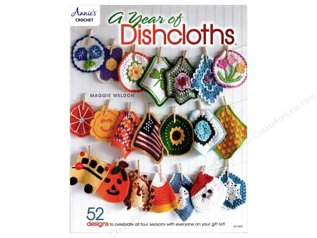 Annie's A Year of Dishcloths Book