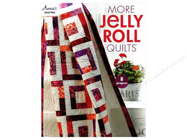 More Jelly Roll Quilts Book by Annie's