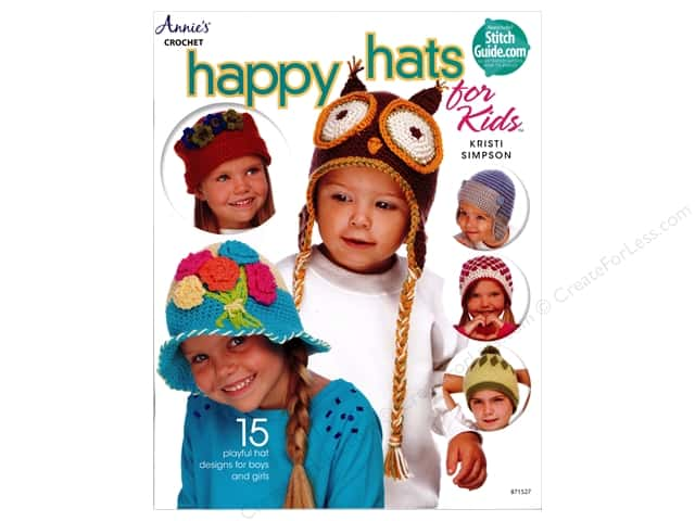 Annie's Happy Hats for Kids Book