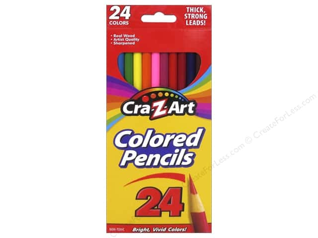 Cra-Z-Art Colored Pencils 24 pc.