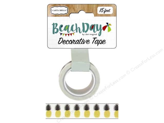 Carta Bella Decorative Tape Beach Day Pineapple