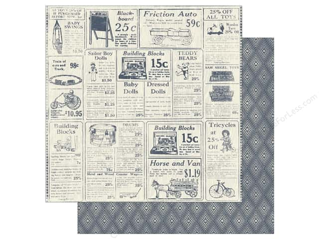 Authentique 12 x 12 in. Paper Darling Boy Two (25 sheets)