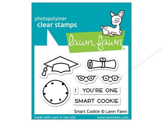 Lawn Fawn Clear Stamp Smart Cookie
