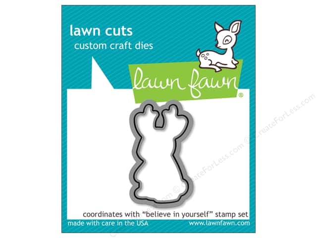 Lawn Fawn Lawn Cuts Craft Die Believe In Yourself