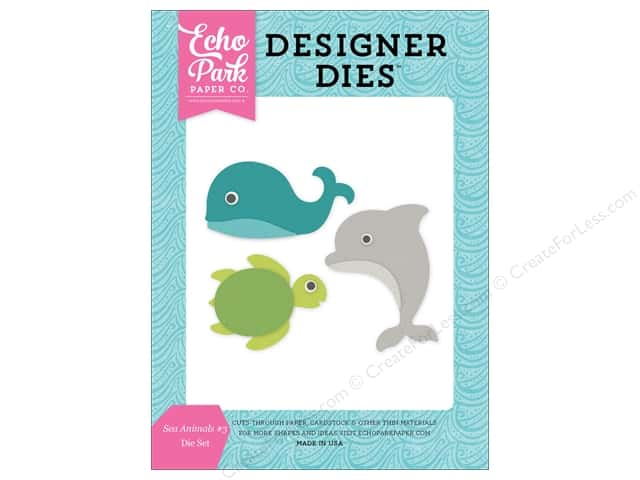 Echo Park Designer Dies Lets Be Mermaids Collection Sea Animals #3